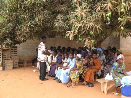 2007: Sunday school under a tree