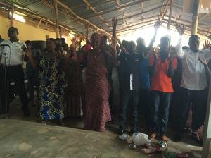 Altar service prayer