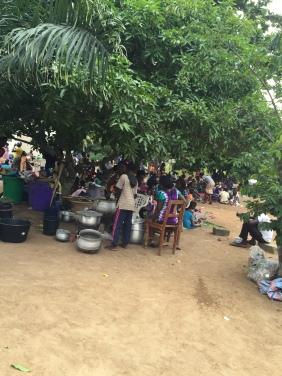 50 churches feeding 3,000 children in outdoor kitchens!
